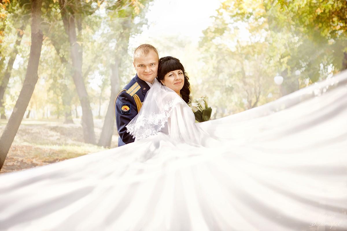 Творческая свадебная фотография 4